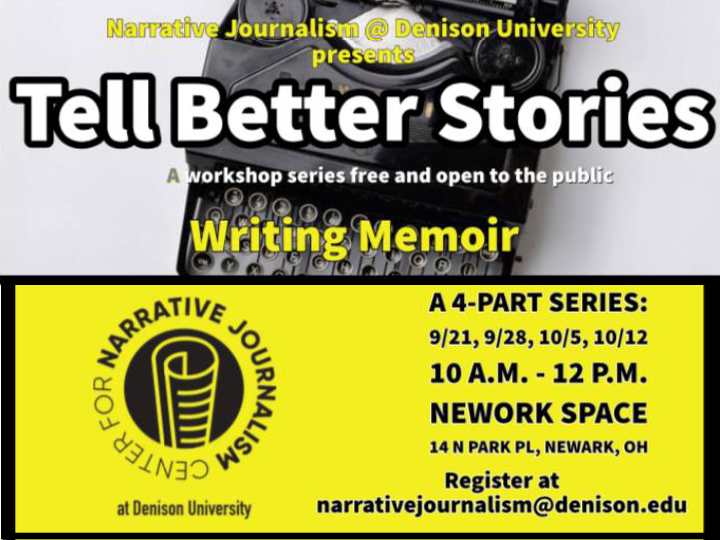 Tell Better Stories Part I: Introduction to Memoir