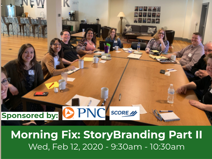 Morning Fix: Introduction to StoryBranding