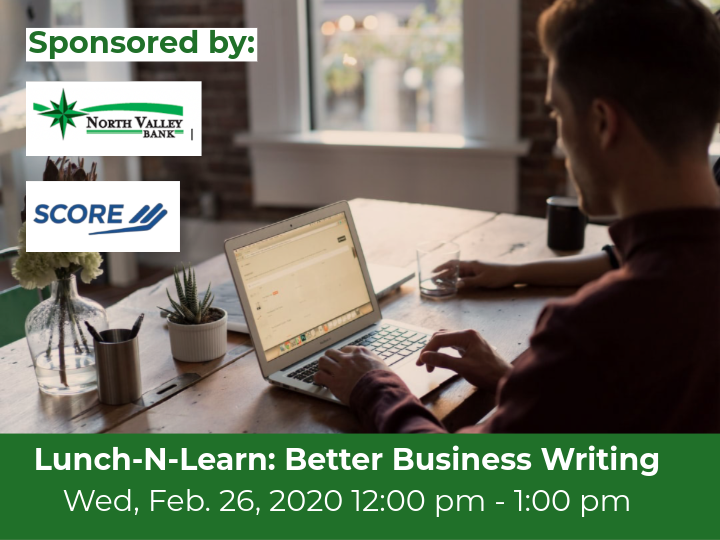 Lunch N Learn: Better Business Writing